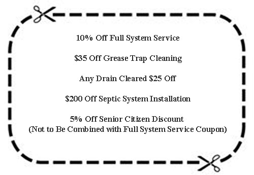 Suffolk Septic Services Coupon